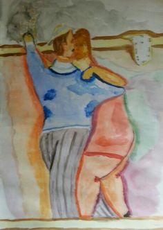 O tempo é relativo no tango do Botero