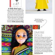 Find us in Little London Magazine . . #toyitoyitoys #startup #mompreneur #womeninbusiness #entrepreneur #creativebusiness #creativepreneur #seedinvestment #africangirl #africanprint #africanamerican #afro #braids #blackdolls #blackbarbie #africandolls #toys #dolls #blackdollsmatter #blackdollsarebeautiful