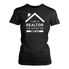 Real Estate Agent womens fit T-Shirt. Real Estate Slogans, Real Estate Humor, Real Estate Tips, Real Estate Leads, Selling Real Estate, Real Estate Business, Real Estate Marketing, Sell Your House Fast, Workout Shirts