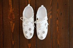 DIY Sneakers — How To Paint Canvas Shoes