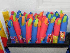 Noah's First Birthday! Sesame Street Theme
