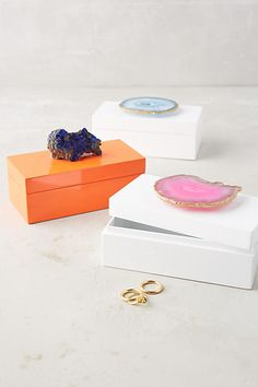 Agate-Topped Box - anthropologie.com