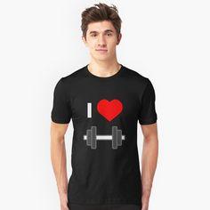 """Ich liebe Norwegen"" T-Shirt von favorite-shirt Damas Rose, Free Mind, Love Shirt, Shirt Style, Slim Fit, Tshirt Colors, Chiffon Tops, Female Models, V Neck T Shirt"
