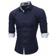 Cheap fit shirt, Buy Quality men slim fit shirt directly from China slim fit shirt Suppliers: 2017 Fashion Brand shirt autusmn Plaid Men Slim Fit Shirt Long Sleeve Casual Scial Mlale Shirt high quality camisa masuina YUJL Business Shirts, Branded Shirts, Business Men, Social Business, Slim Fit Dress Shirts, Fitted Dress Shirts, Cool Shirts For Men, Men Shirts, Shirt Men