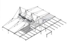 Buildings and Projects by Richard Rogers Partnership: Patscentre Drawing