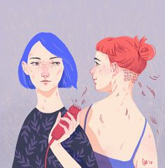 sisters on Behance