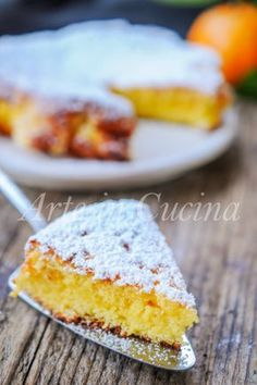 Torta al cucchiaio all'arancia ricetta veloce vickyart arte in cucina