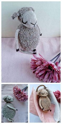 Amigurumi Sleeping Lamb Free Pattern – Free Amigurumi Patterns Crochet Amigurumi Free Patterns, Crochet Toys, Free Crochet, Crochet Ideas, Crochet Costumes, Yarn Needle, Amigurumi Doll, Crochet Animals, Hello Dear