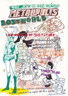 En las ilustraciones de Judas Arrieta, densos entramados sígnicos se despliegan como telarañas que nos atrapan mediante la fusión de imaginería asiática y occidental, de drippings y dibujos de cómic, graffiti y viñeta, affiches e ideogramas japeneses. El artista se contagia del humor bizarro japonés y lo hace dialogar con su propio acervo cultural, invocando el inconsciente colectivo, derribando los diques que las convenciones levantan entre la adolescencia y la edad adulta, entre la…