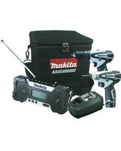 MAKITA - DK1498W Κρουστικό Δραπ/βιδο HP330D-Παλμικό Κατσαβίδι TD090D - Ραδιόφωνο MR051 - (2X1.3Ah) Electronics, Consumer Electronics