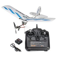 Rc Airplane Hisky Buzz HFW400 Micro Flyer 2.4G 3CH Parkflyers Indoor RTF Rc Plane Aircraft Model 2