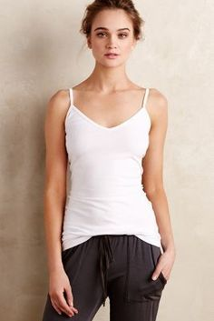 LA Made V-Neck Camisole #anthrofave