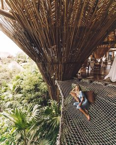 """27.4k Likes, 745 Comments - AGGIE LAL youtuber ✌︎ gypsy (@travel_inhershoes) on Instagram: """"I mean... Who wouldn't want to live in a tree house?! I know I would! #tulum ::::: #VisitMexico…"""""""