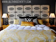 Pump up your bedroom decor with one of these easy (and cheap!) tutorials.