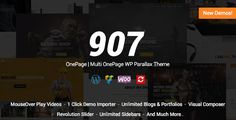 907 v4.0.16 - Responsive WordPress One Page - Multi One Page Parallax