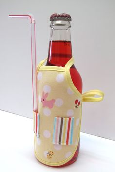 Bee In My Bonnet: Apron Bottle Cover Tutorial...