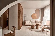 Interior Simple, Contemporary Interior, Studio Interior, Apartment Interior Design, Lovely Apartments, Modern Lounge, Home Studio, One Bedroom, Elle Decor