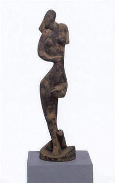 Archipenko, Danseuse, 1912, mortier http://art.rmngp.fr/fr/library/artworks/alexandre-archipenko_danseuse_sculpture-technique_mortier-pierre_1912