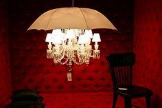 Light Chandelier In Umbrella Shape