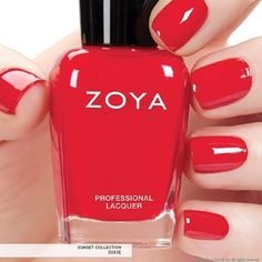 Zoya Nail Polish in Dixie from the Sunsets Collection Summer 2016