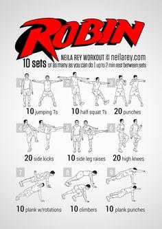 Robin Workout                                                                                                                                                                                 Más