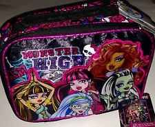 MONSTER HIGH Lunch Box Insulated NEW With Tags Lunchbox