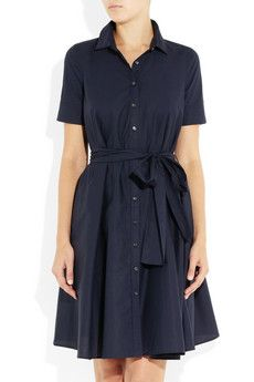 stretch-cotton shirt dress ++ j.crew Even though I have somthing like this already Id love another on lol