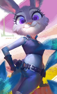 A painting of Judy by d-zdw!