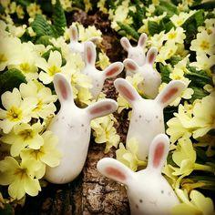"""""""Mi piace"""": 66, commenti: 6 - TRAMAI (@tramai.lab) su Instagram: """"Easter is coming! Miniature in ceramica bianca a cristalline colorate. #ceramics #ceramica…"""""""