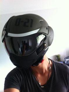OSBE Tornado Helmet.    http://designerhelmets.com/shop/helmets/brand/gpa/gpa-skull-matt-black.html