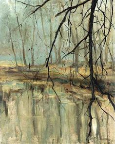 NICOLAS DE STAEL I want this artwork for my room! It would fit with my color scheme amazingly! Abstract Landscape Painting, Landscape Art, Landscape Paintings, Watercolor Trees, Art Moderne, Tree Art, Land Scape, Painting Inspiration, Painting & Drawing