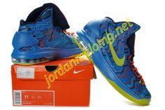 super popular 657ec beb62 Nike Zoom KD V Hyper Blue Atomic Green Photo Blue Challenge Red 554988-401