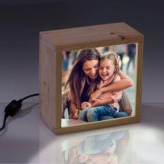 regalo día de la madre: una lightbox con su foto preferida. Madre i hija un vínculo indestructible