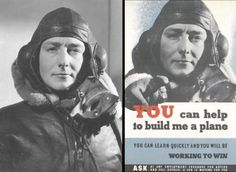 Face On A WW2 Poster Ww2 Posters, Campaign, Learning, Face, Studying, Teaching, Education, Faces, Facial