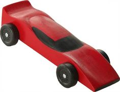 Pinewood Derby Car Ferrari Pre Cut Car Block | eBay