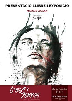 #POESIA #LIBRO #ILUSTRACION #CROWDFUNDING - Letras y Sombras. Un libro de poesía ilustrada. Crowdfunding Verkami: http://www.verkami.com/projects/13427