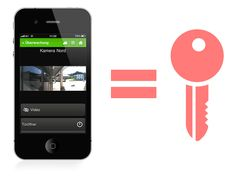Let your phone be the key to your door - Loxone