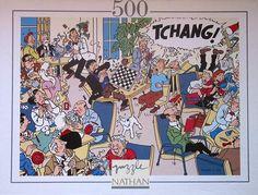 TINTIN Puzzle - Tchang - Nathan