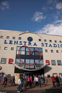 Abe Lenstra Stadion, Heerenveen, Friesland.