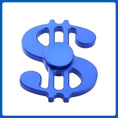 5364be0f1 Urberry Blue Dollar Fidget Spinner Toy Premium Quality Stress Reducer Hand  Spinner Anxiety Relieves Boredom Metal