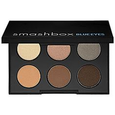 What it is:An eye shadow palette with six shades specifically selected to enhance the color of blue eyes.What it does: Look flawless from any angle with this palette, created to complement blue eyes in any photo op. Its top trio of shades creates sof