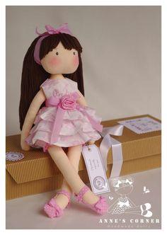 Elegante Susan para la muñeca de trapo especial ocasión por AnneCorner