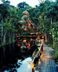 Sasha Lodge. ECUADOR