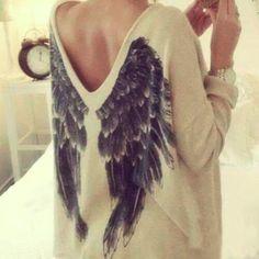 Back wings t-shirt BB918GE