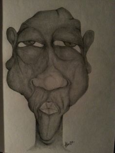 Pen and pencil draw