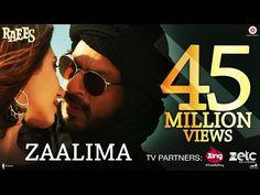 Zaalima Lyrics from Raees: Arijit Singh Song Ft. Shah Rukh Khan, Mahira Khan with music by Studio JAM8 and zalima lyrics penned by Amitabh Bhattacharya.