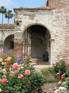 When staying in one of our Historic Bungalows you can take a train from LA's Union station and visit the beautiful Mission San Juan Capistrano.  The entire town is picture perfect!