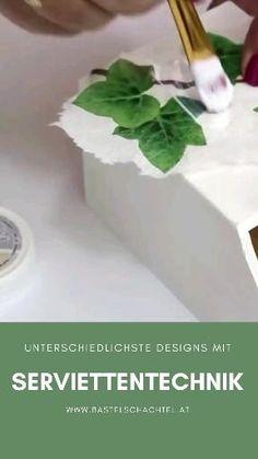 Dieses Monat haben wir ja einige Reispapiere für euch im Angebot 🤩 Daher wollen wir euch nochmal zeigen, wie vielfältig die Serviettentechnik eingesetzt werden kann 😍 Ihr könnt damit wirklich die unterschiedlichsten Materialien in euren liebsten Designs gestalten 😊 Monat, Designs, Creative, Herbs, Food, Decoupage Glue, Napkins Set, Creative Products, Rice Paper