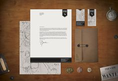 Spion Collectables identity collateral | Designer: Sarah Taylor - http://taylorwork.com