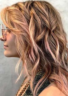 Rose Gold Hair Color Ideas for 2018.Browse here to see the sensational hair color ideas of rose gold to most stunning and cute hair looks. You may also make this colors more attractive by adding some cute root blonde highlights. Get inspired by these given modern ideas of rose gold hair colors to sport with long and short haircuts in year 2018.
